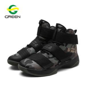 Basketbalschoenen van de Sport van de Manier van de Lucht van de Mensen van de Tennisschoenen van de Basketbalschoenen van Greenshoe 2018 de Nieuwe Model In het groot Hoge Hoogste