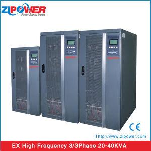 Fonte de alimentação 20kVA-80kVA 0,8 Saída e N+X FASE 3 paralelas UPS on-line de alta freqüência