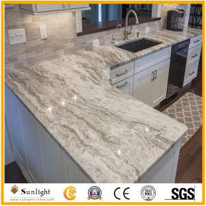 Le Granite de marbre marron d'imagination populaire salle de bains cuisine Plans de travail, la vanité Tops