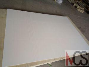 Comitati di marmo coltivati bianchi dell'acquazzone per noi progetti dell'hotel