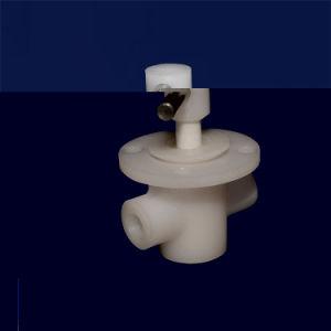 反高い温度Al203のアルミナ陶磁器ディスク弁の部品