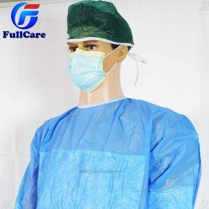 6e2066f5a Nonwoven SMS PP+PE Hospital cirujano PE polietileno reforzado bata