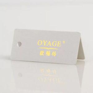 의류를 위한 사용 걸림새 꼬리표를 넓게 인쇄하는 주문 금박지