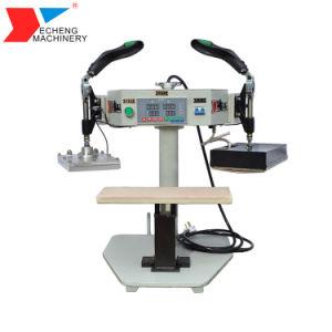 La prensa plana de fusión en caliente máquina para la prenda de vestir