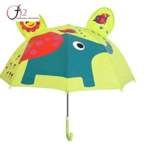 中国の製造業者の昇進の高品質の漫画の動物のまっすぐな自動車の開いた子供の傘
