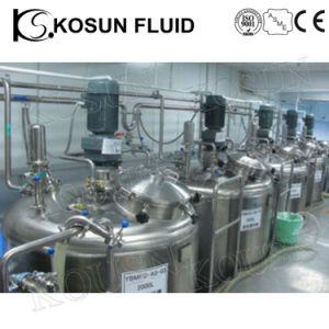 1000Lステンレス鋼アジテータスターラーの電気暖房の熱くする二重Jacketedシャンプーのスターラーが付いている液体によって揺り動かされる混合タンクに投薬する装飾的なペンキの化学薬品