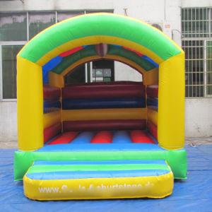 Los niños Arco Iris parte gorila inflable Castillo Trampolin Moonnwalk