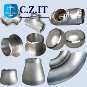 1.4301 EN10253 API 304 321 310s soldadura topo a SS SUS304 SUS316 Super Duplex 2205 Uns31803 soldadura sem redutor da pac dobre o cotovelo t de aço inoxidável para tubos