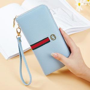 習慣最新のデザイン女性財布デザイン若い女性の札入れ