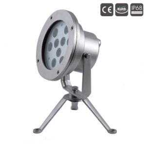 24 indicatori luminosi subacquei del raggruppamento di CC 9X3w LED di V