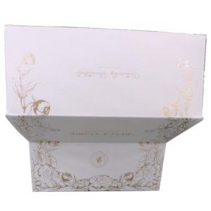 Impressão personalizada Rose Gold Fiol Caixa de expedição de papelão ondulado de dobragem