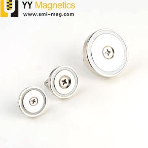 アイボルトが付いている強い保持力のネオジムの磁気ホック