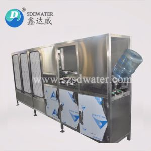 3-5 galloni delle acque in bottiglia di macchina di rifornimento automatica piena