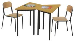 École de commerce de gros d'usine Trapèze seul étudiant de meubles de bureau