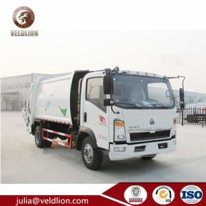 Sinotruk 4X2 Rhd Yn4102の屑のトラックのごみ収集車2 3つの4つの5つの6つの7つのM3 CBM Tのトンのコンパクターのごみ収集車