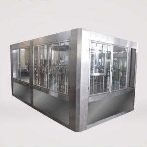 10000B/H 500 ml de lavado de limitación de llenado de manantial de agua mineral pura línea de embotellado