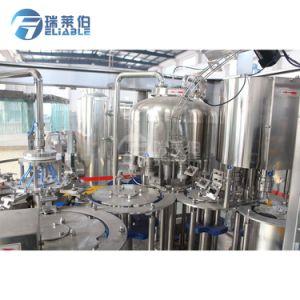 macchina di coperchiamento di riempimento della bevanda del latte 2000bph e del tè nero per la bottiglia di plastica