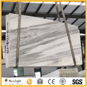 自然な灰色の大理石、フロアーリング、壁のための磨かれた氷河期の大理石のタイル