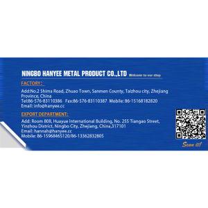 Meubles qualifié de matériel de l'écrou à insert fileté plaqué zinc