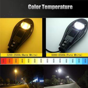 高い発電の防水IP65コブラヘッド穂軸太陽LEDの街灯