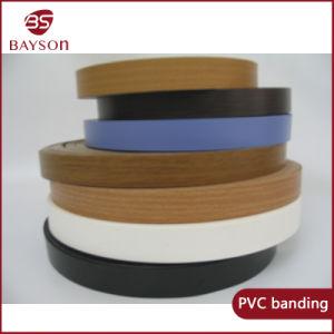 Brilhante de Alta Decoração de grãos de madeira ou PVC Orladora