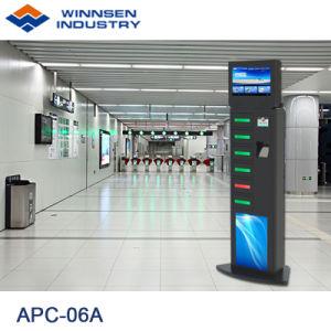 19 '' LCD multi Funktions-Emergency Handy-aufladenkiosk, Telefon-Aufladeeinheits-Station mit Schließfächern