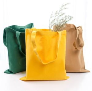China Bolsa de algodón personalizadas cajas lienzo Bolso de mujer