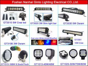 Indicatore luminoso del lavoro dell'automobile dell'inondazione LED di contabilità elettromagnetica 4.7inch 40W per la jeep del camion fuori strada