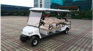 Melhor Design 4 carrinho de golfe Vintage da roda 8 lugares Carros Eléctricos