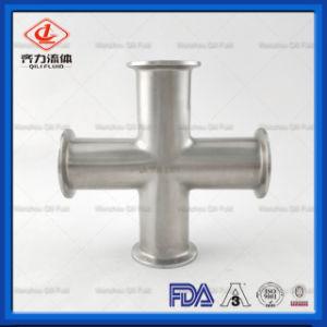 Cruz pinçada sanitárias em aço inoxidável