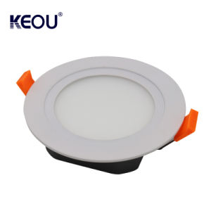 Comercio al por mayor precio de fábrica Slim Ultradelgado Panel Downlight LED 12W de luz