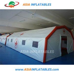 赤十字のための大きく膨脹可能な医学のテント、膨脹可能な移動式病院