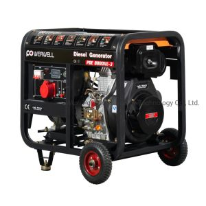 8kVA trifásico de tipo abierto los generadores diesel con Ce alternador