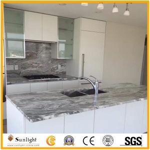 Personnaliser Cheap Fantasy de marbre marron des comptoirs de cuisine de la vanité de pierre