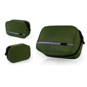 La pendaison pliables de voyage pochette de toilette de cas de maquillage cosmétiques sac sac à main de lavage