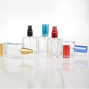 Hot Sale 1 pièce Fashion 15ml bouteille de parfum Transparent portable avec l'aluminium L'atomizer vide conteneur cosmétiques pour les voyages
