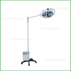 Hospital de luz fría Shadowless móvil de emergencia de la luz de funcionamiento con batería e2000-3L