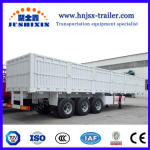 半BPW/Fuwaの車軸高品質の塀または棒のトラックのトレーラー