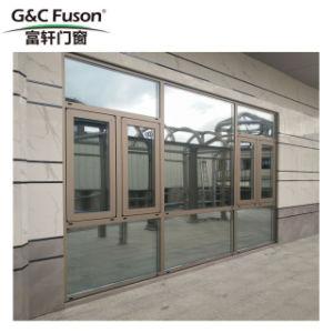Neigung-und Drehung-Aluminiumfenster mit Moden Gitter-Entwurf