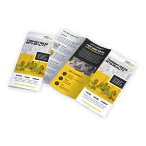 製造業者の低価格のカスタム一義的なA4フライヤのパンフレットポスターオフセット印刷