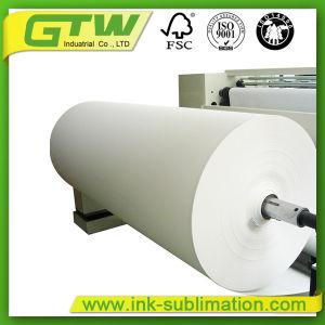 Documento industriale di sublimazione 57GSM di alta qualità per stampaggio di tessuti