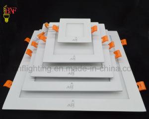 6W 12W 15W 18W 24W Ultra Slim ronds et carrés mur lampe LED pour panneau monté en surface pour l'éclairage à LED lampe de plafond