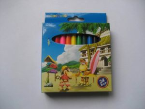 Haut qualité éco Mini crayon de couleur définie pour l'école