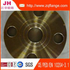 La vernice gialla DIN2502 Pn16 Plat la flangia del tubo