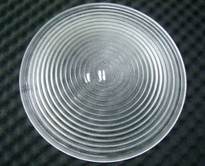 Lente de Fresnel de vidro