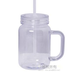 Mason Jar Acrylic Mason Jar Plastic Mason Jar Handleとして