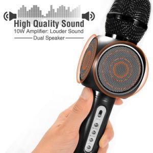 Беспроводной электретный конденсаторный микрофон пение электродвигателя смешения воздушных потоков