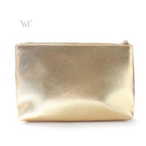 Mode de gros de bonne qualité de l'or brillant Sac de cosmétiques