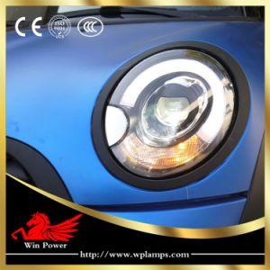 Winpower Faro de LED para el período 2007-2013 BMW Mini Cooper R55 R56 Faro de LED con LED DRL