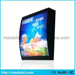 Menú de calidad CE Caja de luz para restaurante de comida rápida